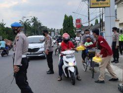 Solidaritas pada Warga Wadas Purworejo, IMM Lakukan Ini di Mapolres Cilacap