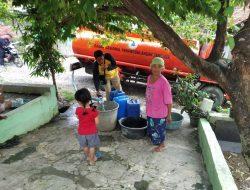 Sumur Warga Kutawaru Tercemar, BPBD Kirim Air Bersih