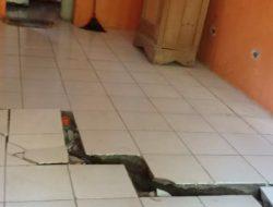 9 Rumah Retak di Gandrungmangu. BPBD : Kemungkinan Ada Sumber Air