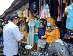Kepala Pasar Harus Patroli Pastikan Penerapan Prokes