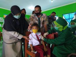 Vaksinasi Siswa SD Belum Ada Regulasi