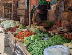 Pasar Tradisional Mulai Ramai Setelah Kasus Covid19 Menurun