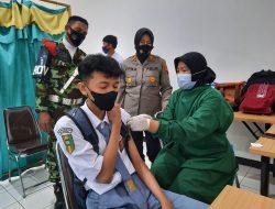Vaksinasi Siswa Masuk Prioritas Polres Cilacap